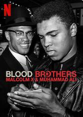 Search netflix Blood Brothers: Malcolm X & Muhammad Ali